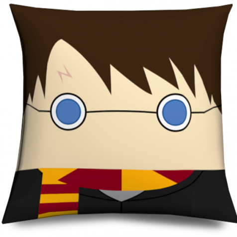 Cojin Mago divertido muñeco cabezón - Harry Magician Pillow, cushion like funko pop