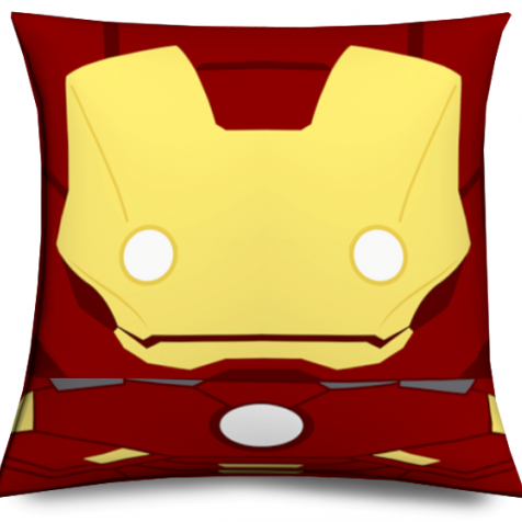 Cojín Ironman Cabezón original y divertido,  Muñeco Cabezón Ironman - Ironman Pillow like funko pop