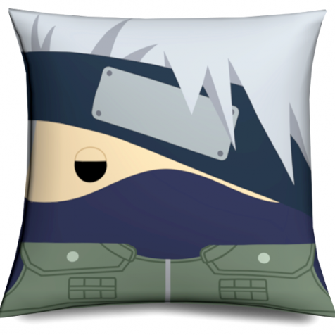Cojín Kakashi Cabezón original y divertido,  Muñeco Cabezón Kakashi - Kakashi Naruto Pillow like funko pop