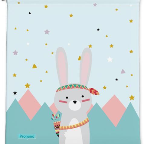 comprar Bolsas guardería originales Conejo tribal personalizadas con nombre