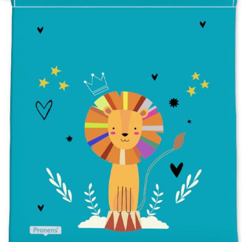 comprar Bolsas guardería originales león personalizadas con nombre