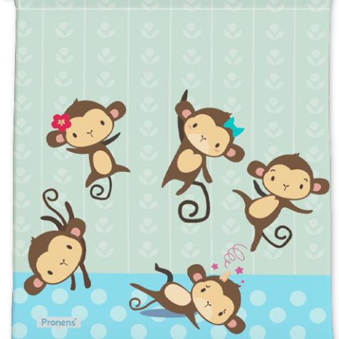 comprar Bolsas guardería originales five little monkeys personalizadas con nombre