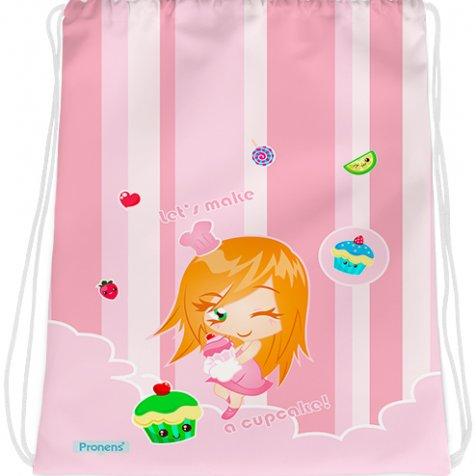 comprar Bolsa mochila guardería personalizada impermeable Cupcakes de PRONENS