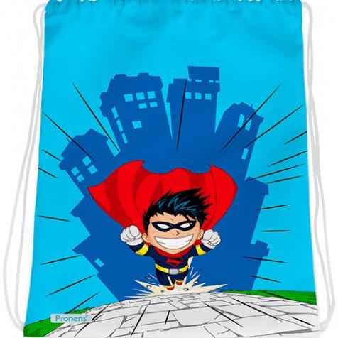 comprar Bolsa mochila guardería personalizada impermeable Superhéroes de PRONENS