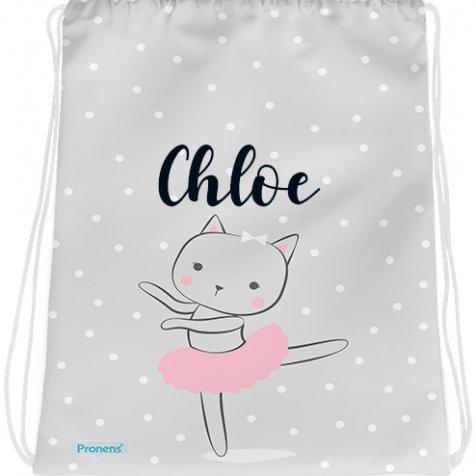 comprar Bolsa mochila guardería personalizada impermeable Bailarina de PRONENS