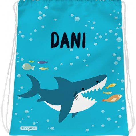 comprar Bolsa mochila guardería personalizada impermeable Baby shark de PRONENS