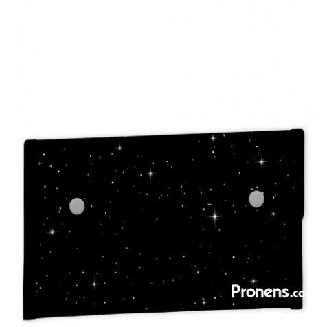 comprar Envoltorio porta alimentosreutilizable, ecológico, impermeable negro estrellas