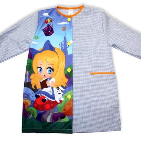 comprar Batas escolares personalizadas Alicia país maravillas de PRONENS
