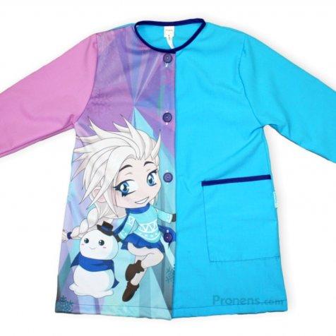 comprar Batas escolares personalizadas Princesa hielo PRONENS