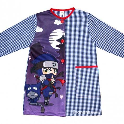 comprar Batas escolares personalizadas Ninjas de Pronens