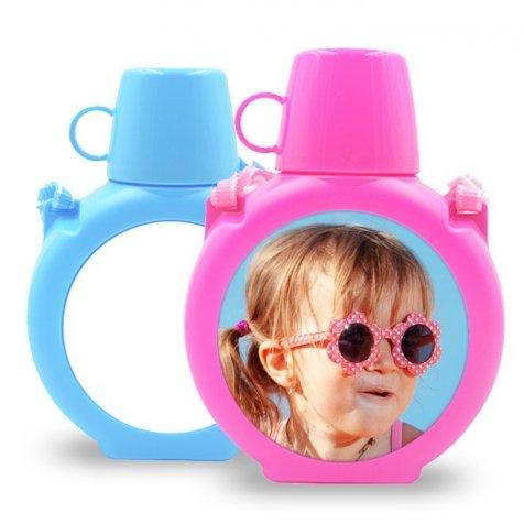 cantimplora con vaso para niños personalizada PRONENS