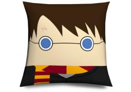 Cojin Mago divertido muñeco cabezón - Harry Magician Pillow, cushion like funko pop