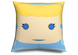 Cojin Princesa Cenicienta divertido muñeco cabezón - Cindarella Pillow, cushion like funko pop