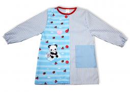 Bata babi escolar Kawaii panda - Comprar online batas babis escolares de Kawaii panda originales y divertidos Pronens
