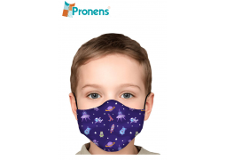 comprar Mascarillas infantiles homologadas tela higiénica espacio