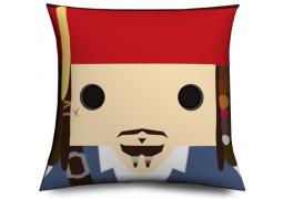 Cojin Jack Sparrow cabezón original y divertido, Muñeco cabezón Jack Sparrow - Jack Sparrow Pillow like funko pop